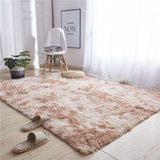 Nordic Pile Plush 40x60cm Carpet Rugs For Living Room Large Size Anti-Slip Bedroom/Study/corridor Soft Carpets Child Bedroom Rugs