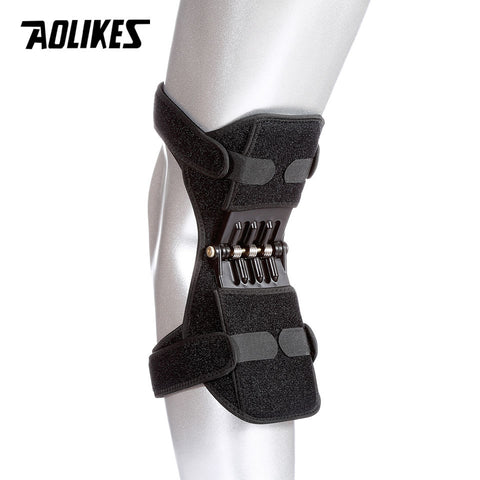 Knee Stabilizer Pad Breathable Non-slip Lift Pain Relief Powerful Spring Force Stabilizes Knee - Dealfactor Canada