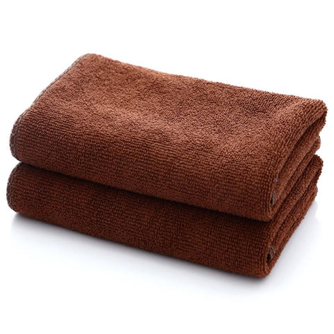 Microfiber Absorbent Towel Soft Bath Towels Cleaning Cloths Washcloth High Absorbent Reusable