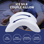 Memory Foam Couple Arm Pillow Arched Skeleton Lunch Break Pillow Curved Slow Rebound