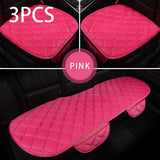 Fancy Car Seat Cover Velvet Cushion Front Rear Chair Seat Pad Car - Dealfactor Canada