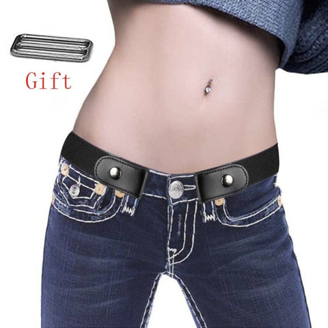 Easy Belt Without Buckle Free Mens Belts For Women Waist