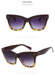 Vintage Cat Eye Leopard Style Sunglasses For Women UV400