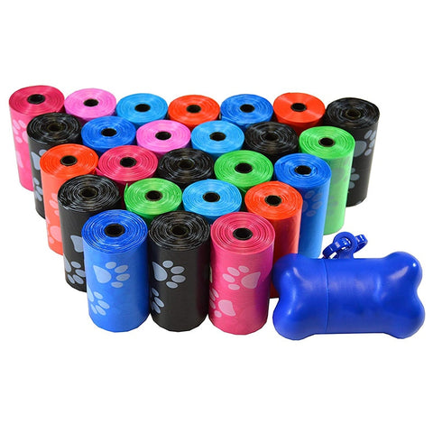 10 Rolls Paw Printing Dog Poop Bags Save Big On Pets Bag - Dealfactor Canada