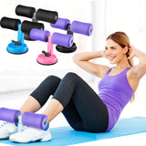 Keep Fit Sit-Up Assistant Device For Abdomen Workout With A Suction Cup Adjustable Body - Dealfactor Canada