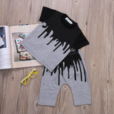 BoyS Set Age 0-4Y 2Pcs Set Cotton Tops With Pants - Dealfactor Canada