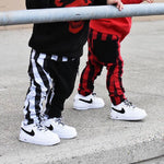 Boy Pants 1Y-6Y Fashion Toddler Kids Boys Plaid Bottom Pants - Dealfactor Canada