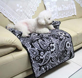 Bed For Large Dogs Cotton Mat Pet Car Seat Cover Washable Cushiony - Dealfactor Canada