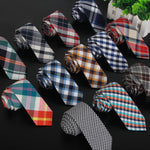 Men's Cotton Designer Necktie 6cm - Dealfactor Canada