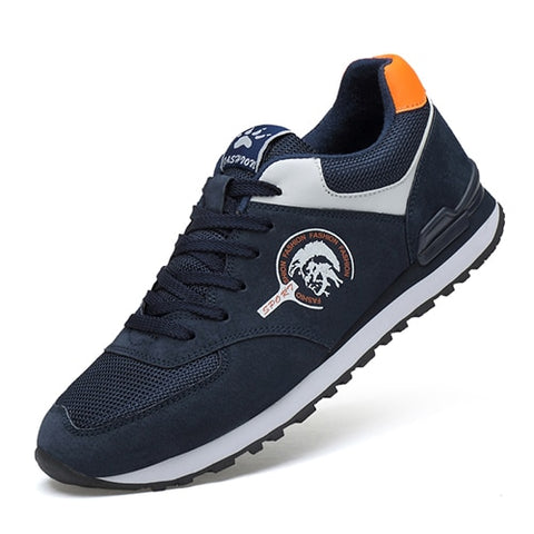 LudBA Originals© Men's Genuine Leather Sneakers Running Shoes - Dealfactor Canada