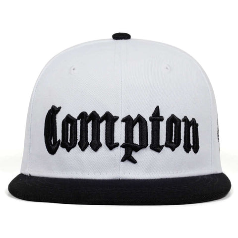 COMPTON Embroidery Baseball Cap Hip Hop Snapback Caps Flat Fashion Sport Hat For Unisex Adjustable Hat