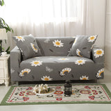 Couch Slipcovers For Living Seats Room Slip-Resistant Sectional Elastic Couch Cover