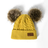 Kids Beanies Winter Hat Knitted Cap For Girls And Boys - Dealfactor Canada