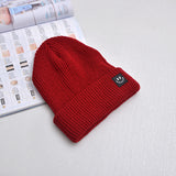 Women's Smiley Face Winter Crochet Knit Cap Hat Beanie - Dealfactor Canada