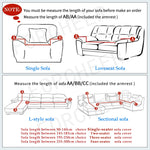 Furniture Cover Elastic Material Slipcovers for Armchairs Couch