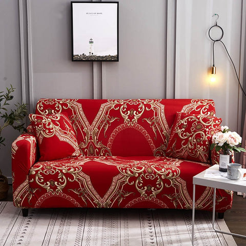 Spandex Slipcovers For Couches Sectional Couch Sofa Cover Set