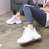 LudBA Originals® Women's Dressy Casual Sneakers Air-Mesh Breathable - Dealfactor Canada