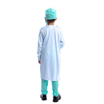 Kids Career Hospital Doctor Surgeon Scrubs Uniform Cosplay Costume - Dealfactor Canada