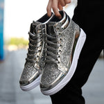 LudBA Originals® Men's Bling Bling Rich Golden Boy Hip-Pop Casual Shoes - Dealfactor Canada