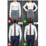 All New Shirt Stays Tuck Belt Universal Adjustable Elastic Shirt Holder Suspenders Garter for Men