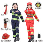 Kids Fireman Sam Costume For Girls Boy - Dealfactor Canada