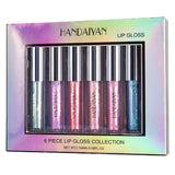 6 Pcs with 1Pc  Makeup Lip Gloss Gift kit - Dealfactor Canada