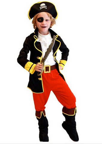 Kids Pirate Costumes Costumes Halloween cosplay costumes children cosplay Girl costumes - Dealfactor Canada