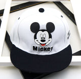 Children's Mickey Mouse Cartoon Hat Color Matching Embroidery Snapback - Dealfactor Canada