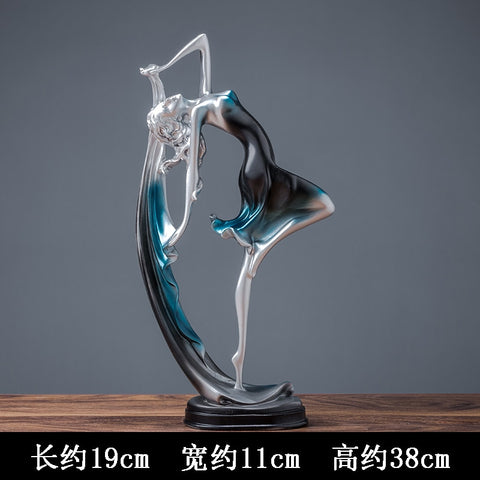 Modern Home Decoration Figurines Dance Lady - Dealfactor Canada