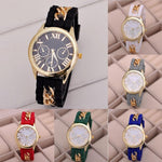 New Casual Ladies Watch Silicone Alloy Quartz Wristwatch