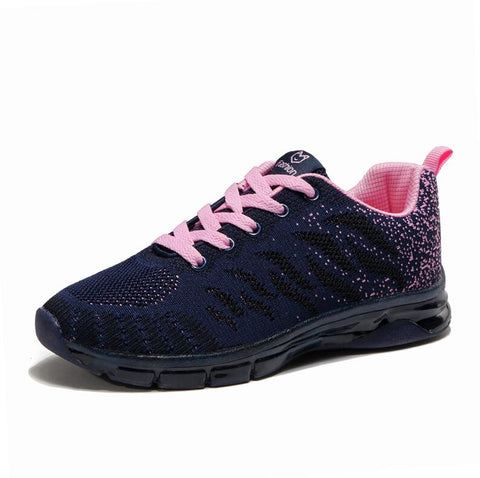 LudBA Originals® Women's Lace Up Sneakers Running Shoes  Breathable Air-Mesh Over 4 Optional Colors - Dealfactor Canada