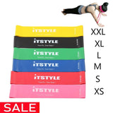 ITSTYLE Resistance Bands 6 Levels Exercises Elastic Fitness Training Yoga Loop Band Workout Pull Rope With Strength Test Video - Dealfactor Canada