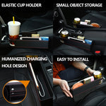 Car Seat Crevice Storage Box Drink Holder Portable Multi-function - Dealfactor Canada