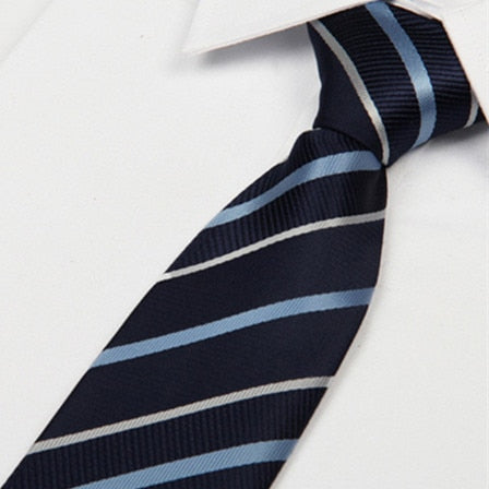 Mens Casual Stripes Necktie - Dealfactor Canada