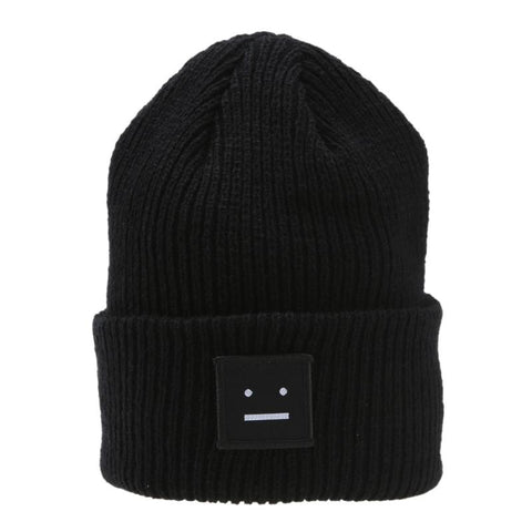 Women's Winter Knitted Ski Beanie Caps Ball Wool Cuff - Dealfactor Canada