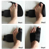 1 pair Toe Separator Bunion Splint Straightener Corrector Pain Relief - Dealfactor Canada