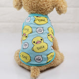 Cute Puppy Dog Shirt Vest Pet Thirt Dog Clothes Summer For Small Dogs Chihuahua Yorkshire Maltese