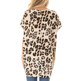 Womens Tops Leopard Print - Dealfactor Canada
