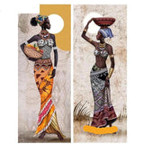 DIY Diamond Painting Cross Stitch 5D Diamond Embroidery African women Full Diamond Mosaic - Dealfactor Canada