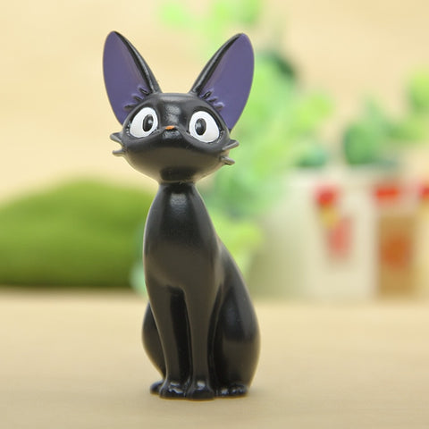 1Pcs Resin Kiki's Delivery Service Cat Figurines With White Kittens Gigi Miniatures - Dealfactor Canada