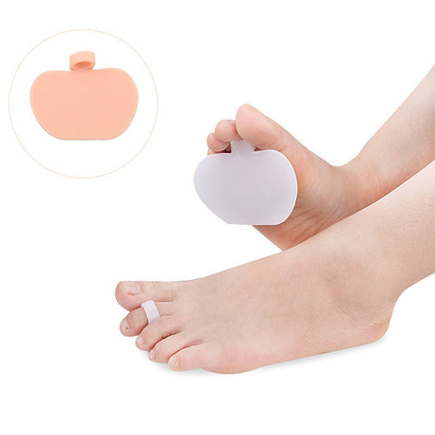 1 Pair Women Silicone Gel Metatarsal Pads for High Heels Feet Pain Reliever - Dealfactor Canada
