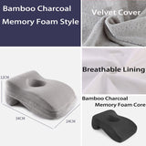 Memory Foam Nap Pillow For Travel Headrest Neck Support Office Rest Lunch Break Pillow Orthopedic