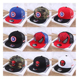 Children Hip Hop Cartoon Baseball Cap Captain America Spiderman - Dealfactor Canada