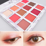 1Pc New Marble Eyeshadow 12 Colors Palette Matte Natural Shimmer Waterproof - Dealfactor Canada