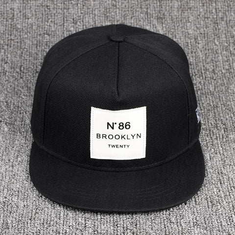N-Degree 86 Leather Label Baseball Cap Fashion Snapback Caps Unisex Women Men 100%cotton Hat Outdoor Golf Hats