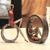 American Country Girl Home Furnishing Jewelry Ornaments Abstract Retro Decor - Dealfactor Canada