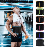 Fitness Waist Belt with Pocket Neoprene Sweat Belt Exercise - Dealfactor Canada