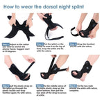 Orthosis Foot Stabilizer Adjustable Foot Drop (Medium) - Dealfactor Canada