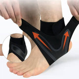 1 Pair Left/Right Feet Sleeve Support Socks Breathable Compression Anti Sprain Heel Cover - Dealfactor Canada
