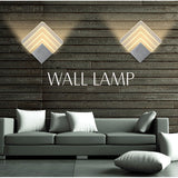 Acrylic Led Wall Lamp Aluminum Wall Light Lamps Wall Lights For Home
